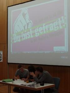 Im Jugendforum Öhringen ist die Jugend gefragt